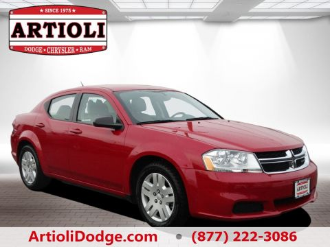 CERTIFIED PRE-OWNED 2014 DODGE AVENGER SE FWD