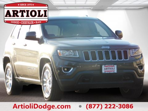 CERTIFIED PRE-OWNED 2015 JEEP GRAND CHEROKEE LAREDO FOUR WHEEL DRIVE