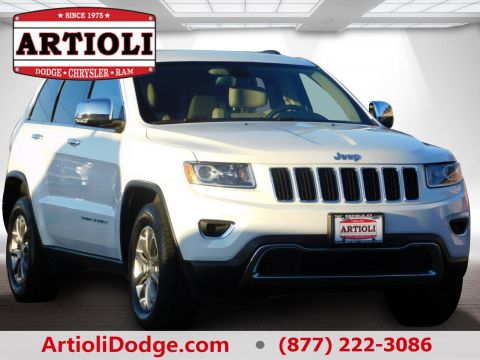 CERTIFIED PRE-OWNED 2015 JEEP GRAND CHEROKEE LIMITED FOUR WHEEL DRIVE