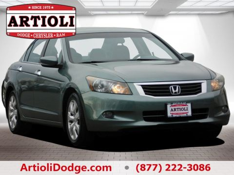 PRE-OWNED 2009 HONDA ACCORD SDN EX-L FRONT WHEEL DRIVE