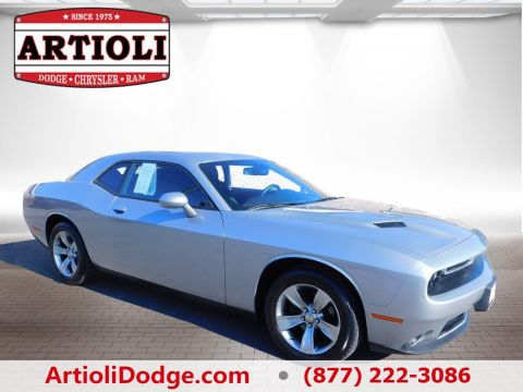 PRE-OWNED 2017 DODGE CHALLENGER SXT REAR WHEEL DRIVE