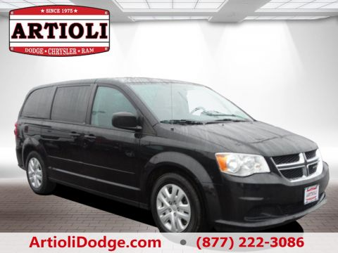 CERTIFIED PRE-OWNED 2014 DODGE GRAND CARAVAN SE FRONT WHEEL DRIVE