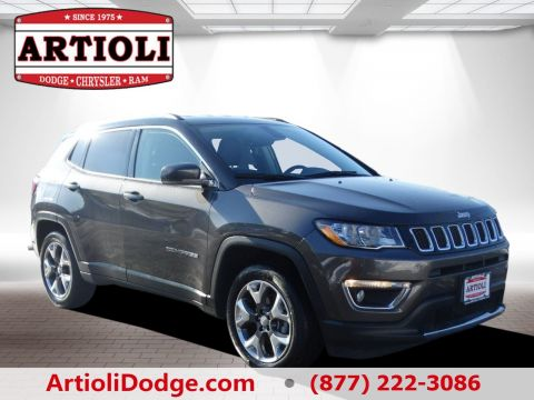 Certified Used Jeep Compass Limited