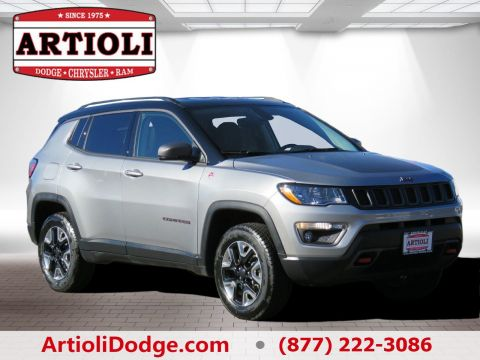 Certified Used Jeep Compass Trailhawk