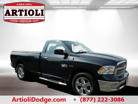 CERTIFIED PRE-OWNED 2014 RAM 1500 SLT FOUR WHEEL DRIVE
