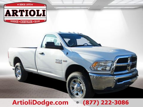 NEW 2018 RAM 2500 TRADESMAN REGULAR CAB 4X4 8' BOX
