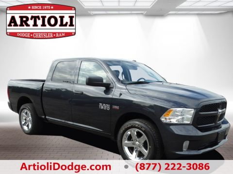 CERTIFIED PRE-OWNED 2014 RAM 1500 EXPRESS FOUR WHEEL DRIVE