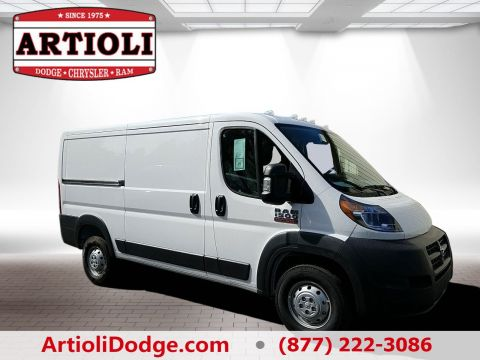 NEW 2018 RAM PROMASTER® 1500 CARGO VAN LOW ROOF 136 WB