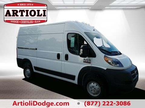 NEW 2018 RAM PROMASTER® 1500 CARGO VAN HIGH ROOF 136 WB