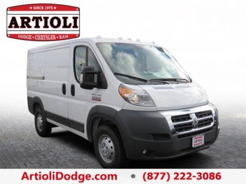 NEW 2017 RAM PROMASTER® 1500 CARGO VAN LOW ROOF 118 WB