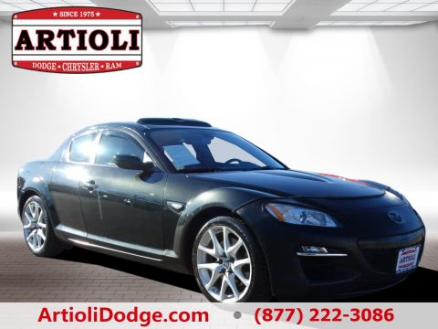 PRE-OWNED 2009 MAZDA RX-8 GRAND TOURING REAR WHEEL DRIVE
