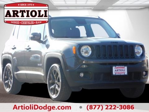 Certified Used Jeep Renegade Latitude