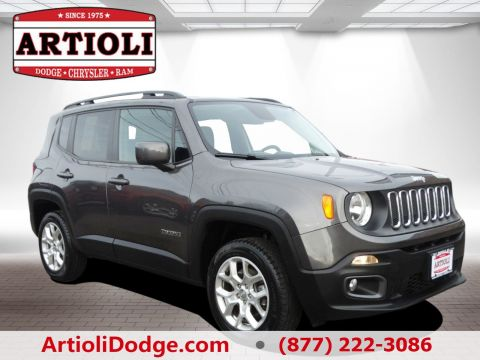 Used Jeep Renegade Latitude