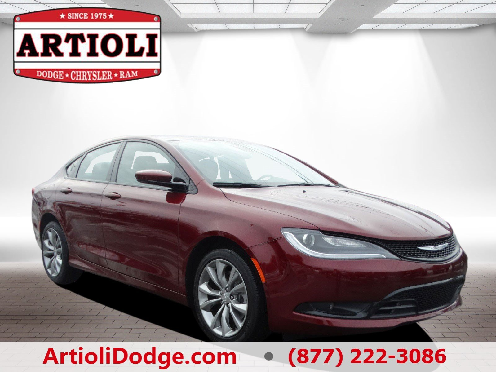 Certified Pre Owned 2016 Chrysler 200 S 4dr Car in Enfield P2819