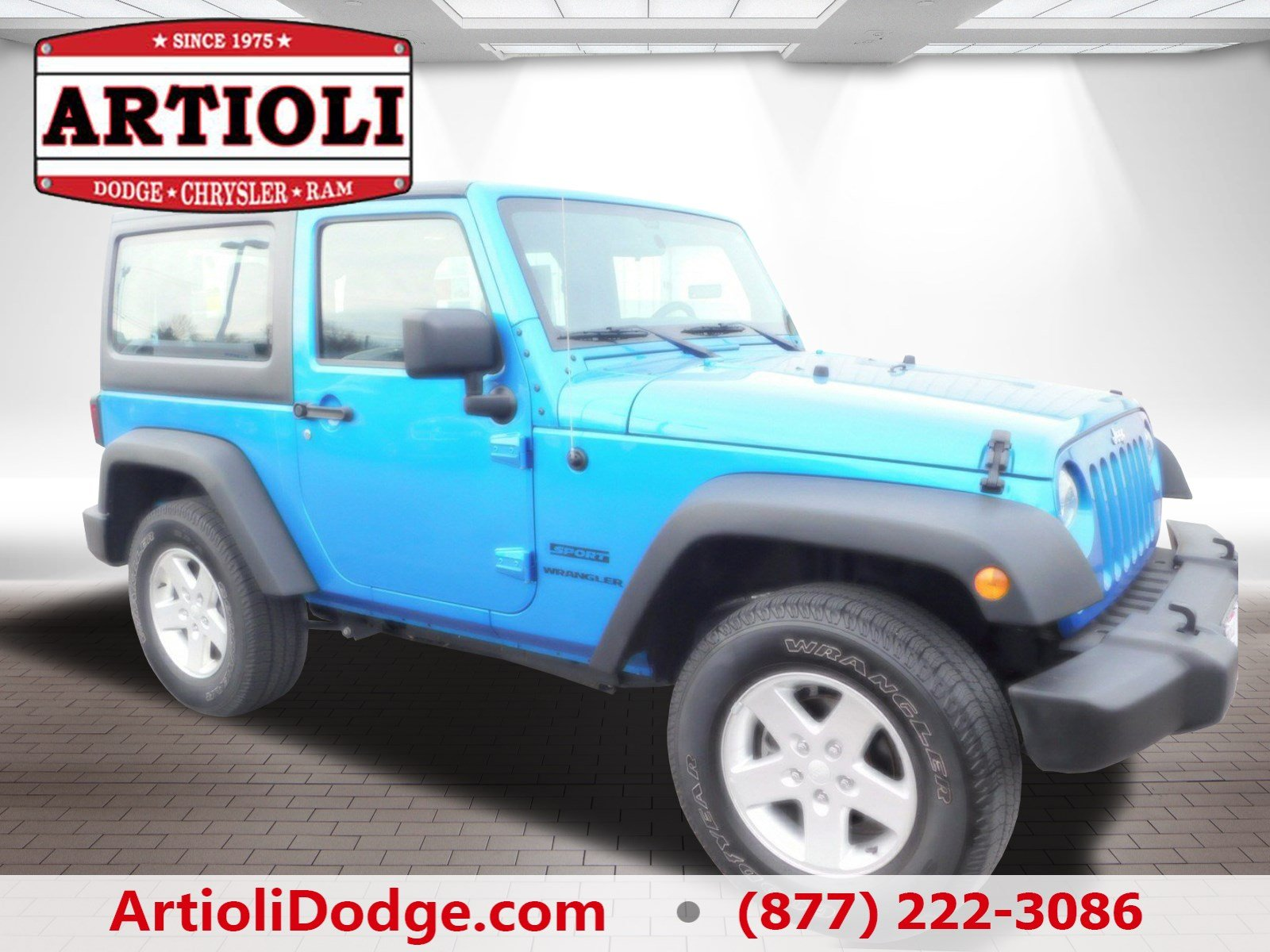 Certified Pre Owned 2016 Jeep Wrangler Sport Convertible in Enfield