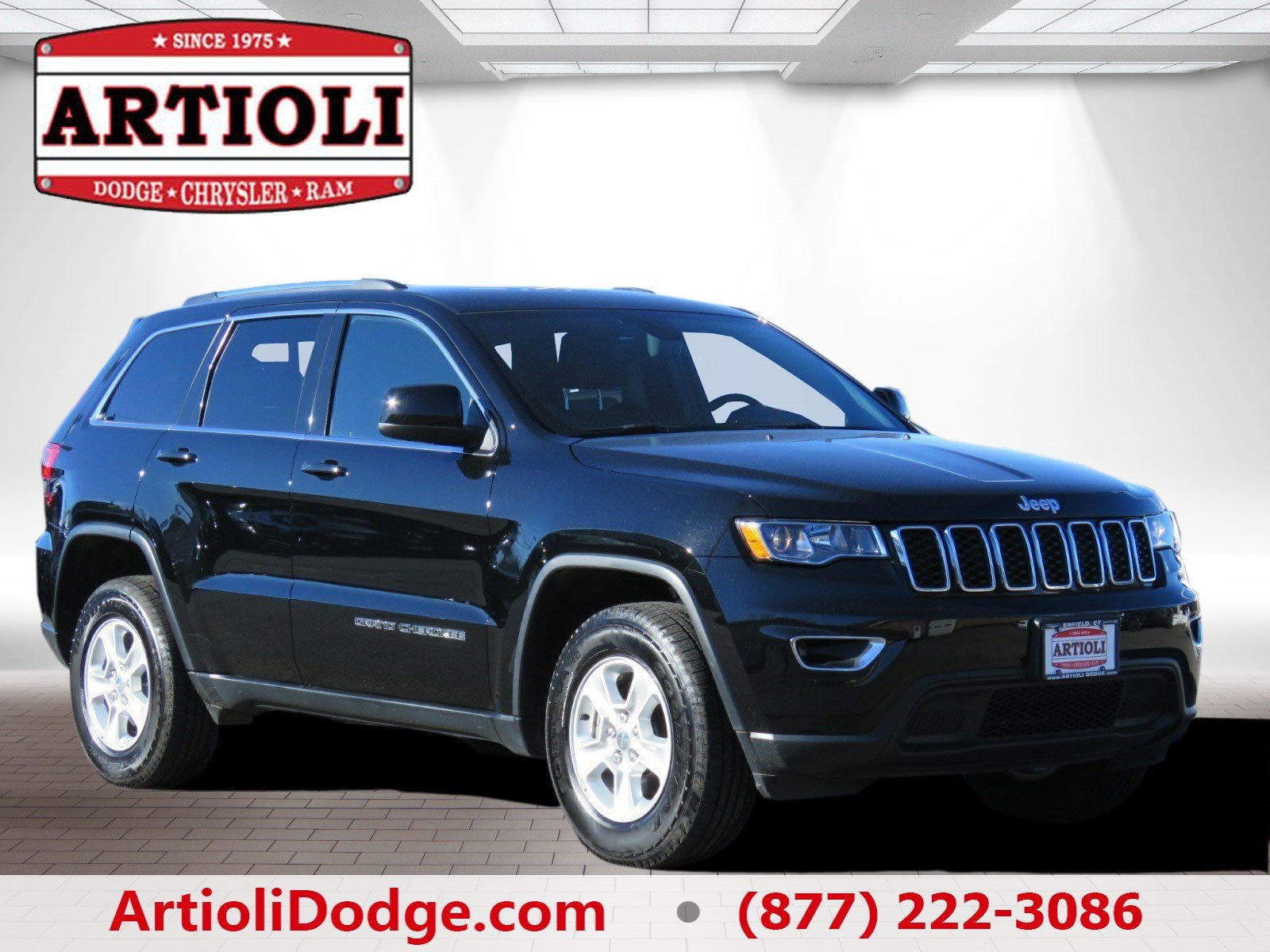 certified pre owned 2016 jeep grand cherokee laredo sport utility in enfield p2846 artioli. Black Bedroom Furniture Sets. Home Design Ideas