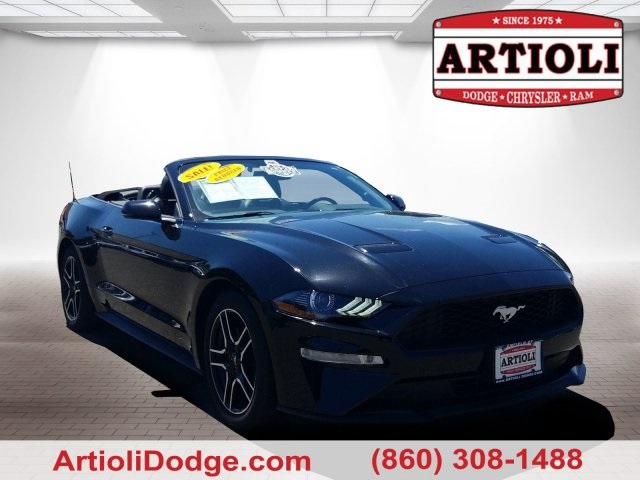 Pre Owned 2019 Ford Mustang Ecoboost Premium Rwd
