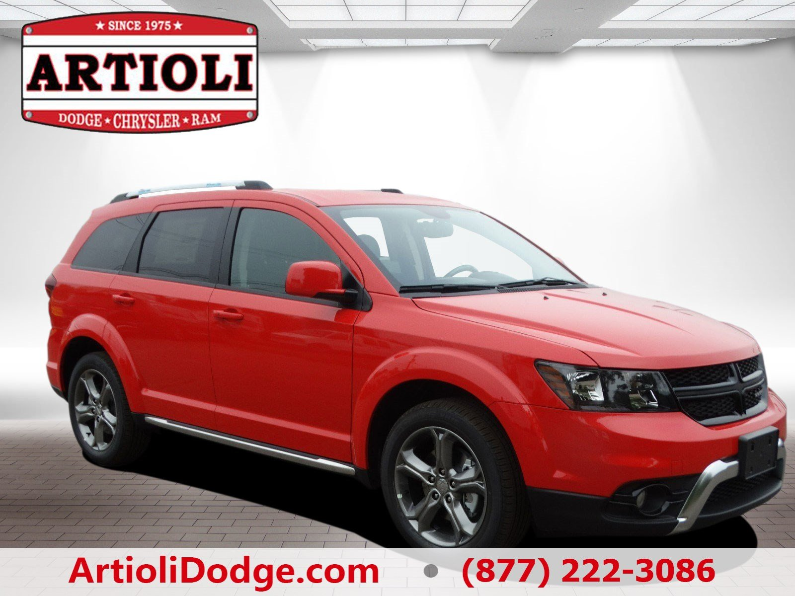 new 2017 dodge journey crossroad plus sport utility in enfield 48312 artioli chrysler dodge ram. Black Bedroom Furniture Sets. Home Design Ideas