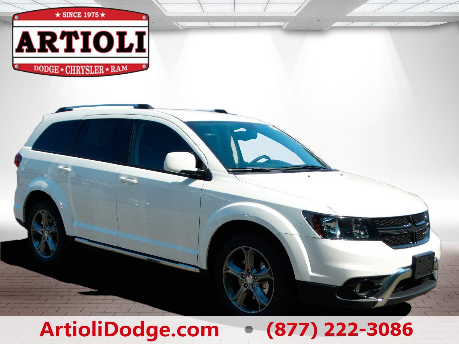 new 2017 dodge journey crossroad plus sport utility in enfield 48247 artioli chrysler dodge ram. Black Bedroom Furniture Sets. Home Design Ideas