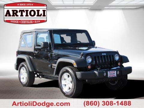 Certified Pre-Owned 2018 Jeep Wrangler JK Sport